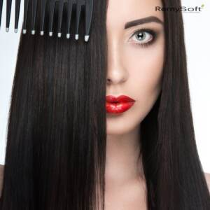 Reduce tangling with quality hair products.