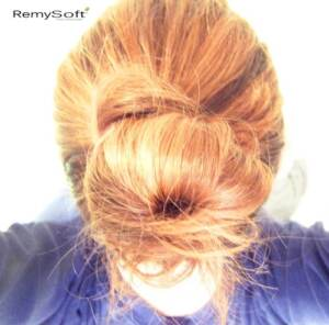 Make messy hair look great with hair products for remy hair.