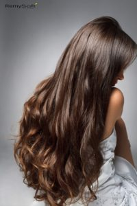 Try our shiny hair extensions