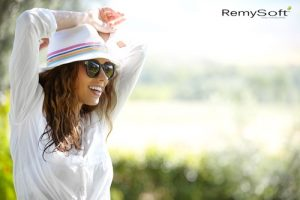 You can achieve these looks with RemySoft sulfate free shampoo!